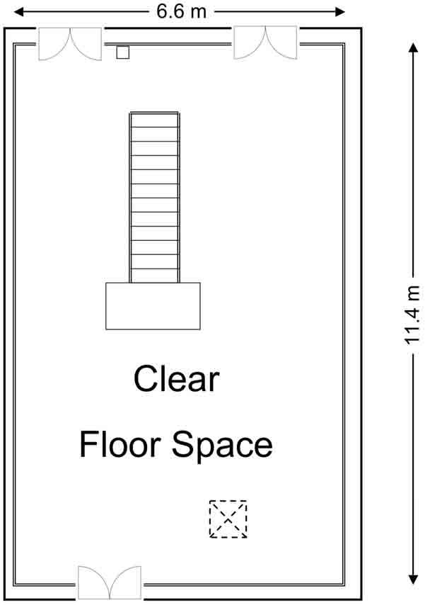 Bretton Hall Office Unit Floorplan